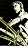 An welches Tier erinnert Zorro seinen begnadeten Zeichner?