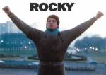 Welche Farbe hat Rockys Hose im ersten Kampf mit Apollo?
