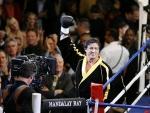 Wie heißt der junge Boxer, den Rocky trainiert, aber später gegen ihn auf der Straße kämpft?