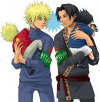 """Kapitel 6: Kakashi knockt Sakura mit einem Gen-Jutsu aus. Er """"spielt"""" ihr den sterbenden Sasuke vor: Einer von Sasukes Unterarmen ist abgetr"""