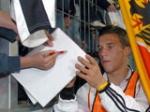 Wie oft wurde Poldi schon als Torschützenkönig des Monats ausgezeichnet?