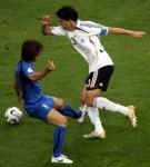 Mit welchem Ergebnis verloren Schweini und Poldi bei der WM 2006 gegen Italien? LEIDER:(
