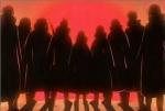 Sasuke gehört zu der Akatsuki-Organisation.