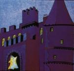 Das alte Schloss lag in völliger Dunkelheit. Nur der Mond warf einen schmalen Streifen Licht auf das heruntergekommene Tor, um das sich wilder Efeu r