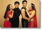 Wie heißen Shah Rukh Khan, Kajol, Kareena Kapoor und Hrithik Roshan im Film?