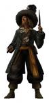 Welche Waffe hat der untote Pirat A?