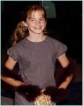 Wie alt war Emma bei ihrer ersten Film Premiere?