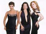 Holly Marie Combs, Alyssa Milano & Rose McGowan spielen die zauberhaften Hexen.