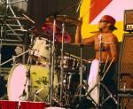 Mit wievielen Trommeln & Becken stellte Chad einen Weltrekord auf?