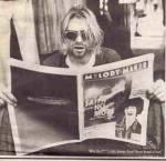 Was stand auf dem T-Shirt drauf, mit dem Kurt Cobain auf dem Cover des Rolling Stone war?