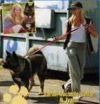 Heute besitzt sie zwei Hunde, doch welches Haustier hatte Sarah früher einmal?