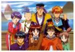 Fushigi Yuugi: In welcher Reihenfolge sterben vier der sieben Suzaku Seishi?