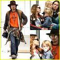 Wieviele Kinder hat Johnny Depp (Jack Sparrow)?