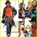 Wieviele Kinder hat Johnny Depp (Jack Sparrow)?