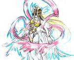 Wie heißt die Attacke mit der Angewomon LadyDevimon besiegt?