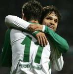 Wieviele Tor haben beide in der Saison 06/07 für Werder geschossen?