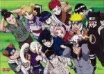 Fangen wir mal ganz einfach an: Wer bildet mit wem die 4 bekanntesten Teams in Konohagakure?
