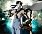 Welcher der folgenden Partner der sieben Schwertkämpfer des Nebels hat keinen Teampartnermit Kekkei-Genkai-Fähigkeit?