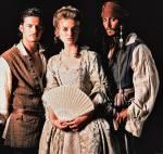 Zum Schluss noch Johny Depp Orlando Bloom und Keira Knightley spielen die Hauptpersonen.