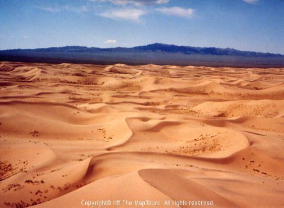 Wo befindet sich die wüste gobi