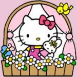Wie heißt die Freundin von Hello Kitty (rechts auf dem Bild)?