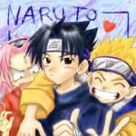 Wie ist das Verhältnis von Naruto und Sasuke?