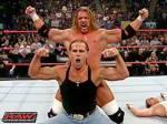In was für einem Match kämpften Triple H bei Bad Blood 2004 gegen Shawn Michaels?