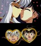 Wann küsst Kagome Inuyasha das erste Mal?