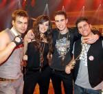"""Durch welche Castingshow wurde die Band """"Room 2012"""" bekannt?"""
