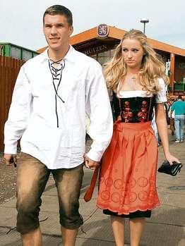 Freundin Lukas Podolski