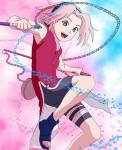 Warum wollte Sakura ein Ninja werden?