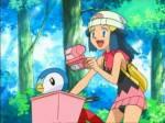 Welchem legendären Pokemon begegnet sie am See der Wahrheit?
