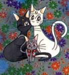 Es gibt ja Katzen in der Serie von Sailor Moon. Beide Katzen haben eine Tochter. Wie heißt sie?
