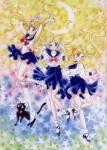 Und was ist der erste Verwandlungsspruch, den Bunny nimmt, um sich in Sailor Moon zu verwandeln?