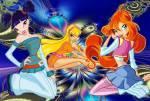 Welche Kräfte verfügen Bloom, Musa und Stella?