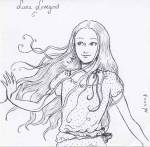 Welche Haarfarbe hat Luna Lovegood?