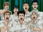 In welcher Folge kommt Eiji mit weißen Haaren ins Klassenzimmer?O.o