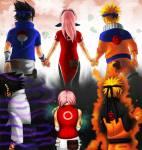 Wer ist in Sakuras Team und in welchem Team ist sie?