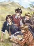 Wer kehrte nach Harry und Hagrid zuerst in den Fuchsbau zurück?