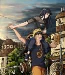 Du hast also geöffnet (ob du willst oder nicht) und schaust auf einen etwas nervös wirkenden, 15-jährigen Naruto, der dich fragt, ob du mit ihm aus