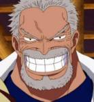Wie heißt Ruffys und Aces Großvater?