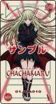 Wem oder was wurde Chachamaru nachempfunden?