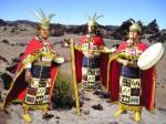 Welche hohe-adlige Kultur herrschte in Bolivien vor der spanischen Eroberung?