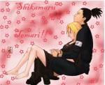 Temari und Shikamaru sind in ineinander verliebt!