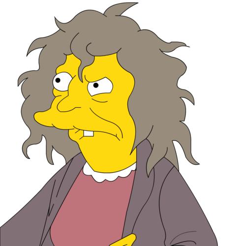 Katzenfrau Simpsons