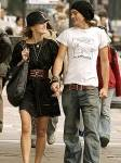 Seit wann ist sie mit ihrem Freund Rupert Friend zusammen?