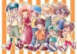 Die Digimon Partner der 1.Staffel heißen...