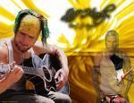 Jeff spielt in einer Band und was spielt er für ein Instrument?