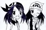 Was für ein Pokémon setzt Maike im Kampf gegen Lucia bei dem Wassili-Wettbewerb (oder wie das auch heißt) in der 11. Staffel ein?