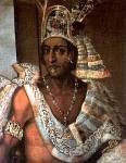 Die Spanier hatten den Befehl bekommen die Azteken auszulöschen.